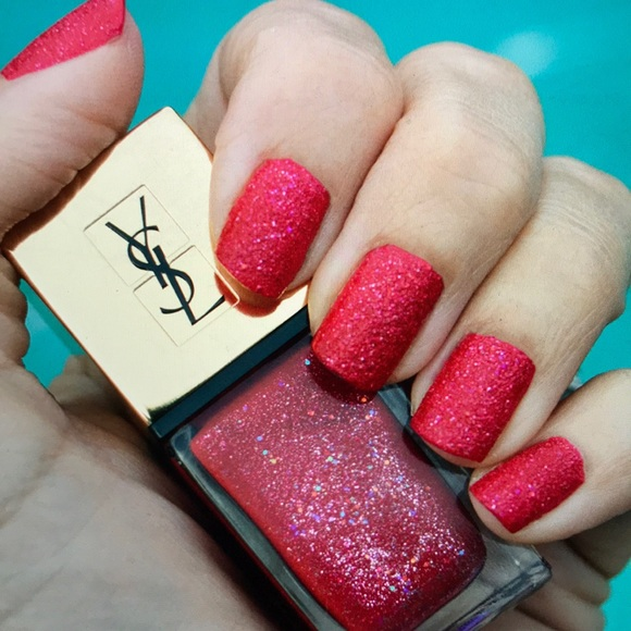 YSL Nail Polish in 91 Red Lights